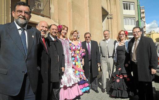 Pedro Anaya, Diego González, José Espejo, Carmen Moreno, María Carmen Rodríguez, José Martínez, Manuel Cádiz, Josefa Cuesta y José Murillo.