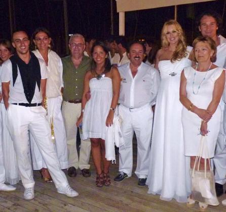 Óscar Fernández, Laura Ponte, Gabriel Sagristá, Marta y Joaquín Messeguer, Carolina Cerezuela, Carlos Moyá y Carmen Berendes.