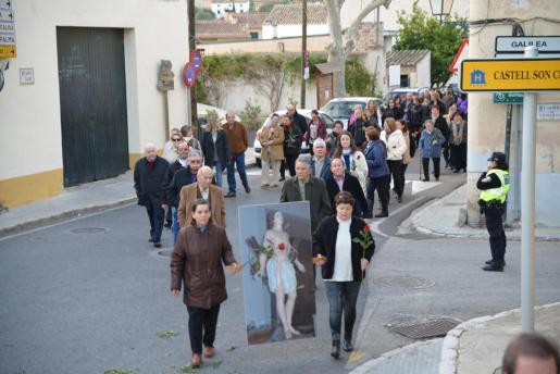 La polémica empezó con la centenaria procesión de Sant Sebastià.