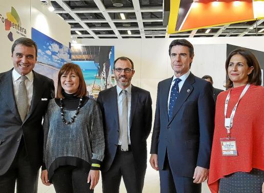 Pablo García Berdoy, Francina Armengol, Biel Barceló, José Manuel Soria e Isabel Borrego.