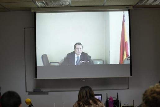 Antonio Ballabriga ha declarado por videoconferencia en el juicio del caso Nóos.