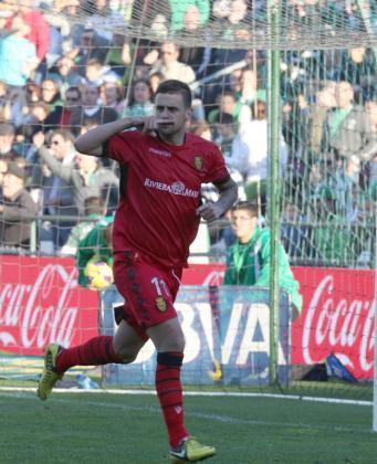 El futbolista Javi Márquez en su etapa como mallorquinista.