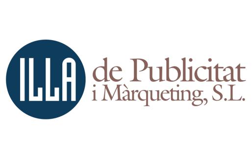 Logo de la agencia de publicidad Illa de Publicitat i Màrqueting.