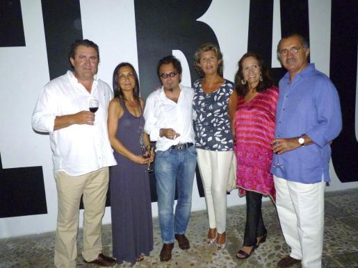 Ramon Servalls, Tonina Bestard, Bernardí Roig, Pepa Juan, Patricia Estrada y Joan Nadal.