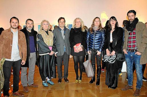 Xisco Duarte, Rafel Creus, María José Corominas, Francesc Miralles, Bárbara Cardellà, Natasha Lebedeva, Arantxa Boyero y Marcos Juncal.