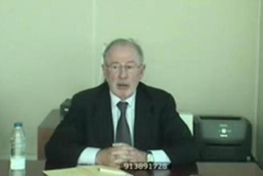 Rodrigo Rato en el juicio del caso Nóos.