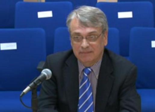 Miguel Tejeiro en juicio del caso Nóos.
