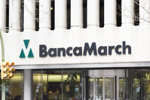 Oficina de Banca March en Palma.