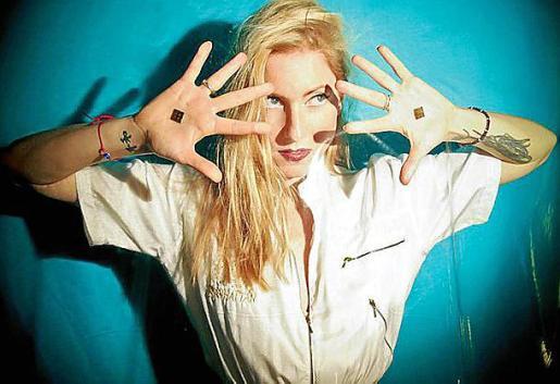 La diva de la electrónica alemana Ellen Allien.