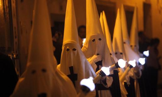 Imagen de archivo de una procesión de Semana Santa.