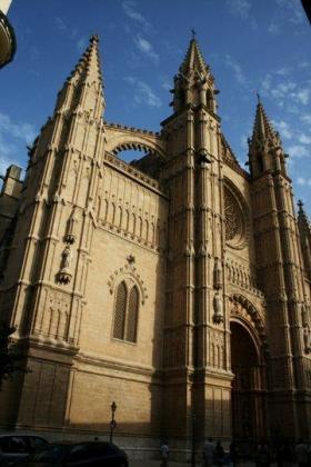 Imagen de la Catedral de Palma.