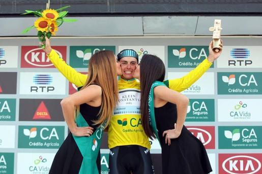Enric Mas tras su victoria.