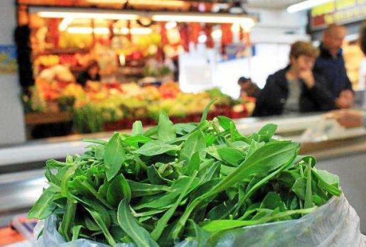 En los mercados pitiusos podemos encontrar 'verdura'. Foto: D.M.