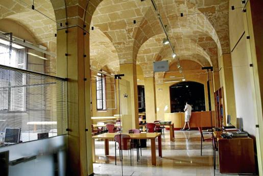 Imagen de una de las dependencias del Consell de Mallorca en La Misericordia.