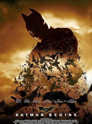 Cartel de la cinta 'Batman Begins'.