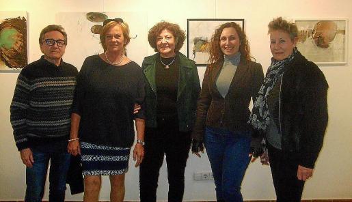 Jaime Llabrés, Sylvia Galos, Francisca Llabrés, Leda Turitich y Silvia Bregar.
