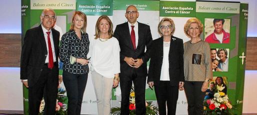 Jaime Aguiló, Antonia Sánchez, Teresa Martorell, Antonio Sánchez-Grao, Isabel Got y Rosa Martín.