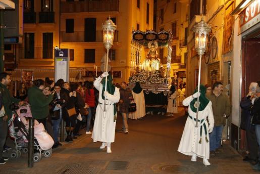 Imagen de la procesión de Nostra Senyora de l'Esperança.