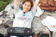 Lourdes Morro, una joven alegre