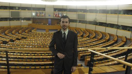 Guillem Martorell, fotografiado en 2009 en el Parlamento Europeo.