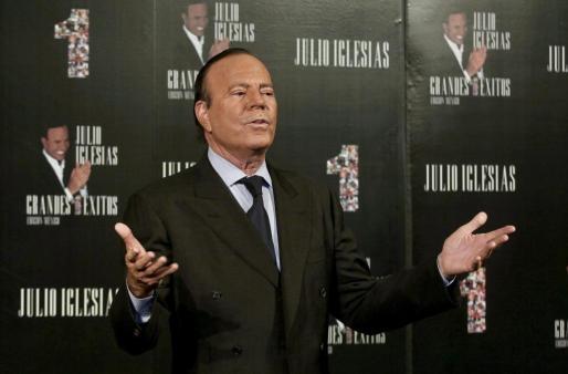 El cantante español Julio Iglesias en una imagen de archivo.