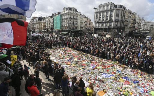 Los ultras han enturbiado el acto en Bruselas.