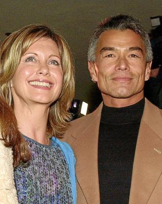 Olivia Newton-John y Patrick McDermott, en una imagen de archivo.