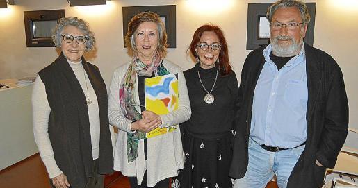 Aina Segura, Maria Magdalena Aguiló, Marian Feliú y Lluís Torrent.
