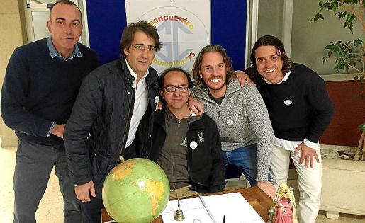 Luis Rodríguez-Navas, Pedro Terrasa, Pep Solivellas, Carlos Fernández y Jaime Ferrer.