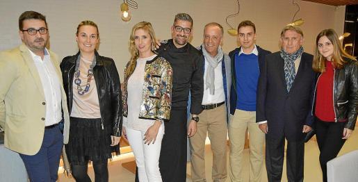 Martí Ferrer, Maite Guirado, Cati Ripoll, Joan Josep Genestar, Juan Ávila, Jordi Ávila, José de Luna y Elionor Carbonell.