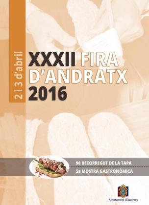Más de 200 estands forman parte de la Fira d'Andratx 2016.