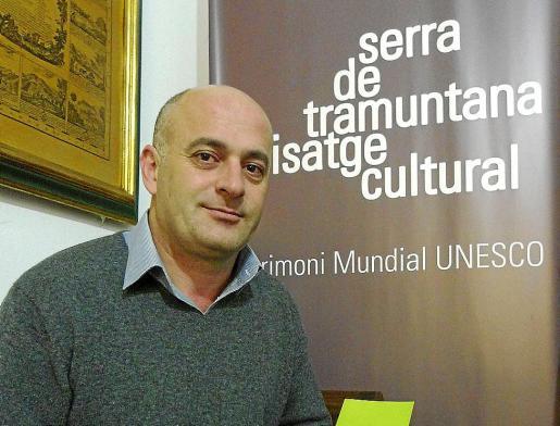 El alcalde de Escorca, Antoni Solivellas.