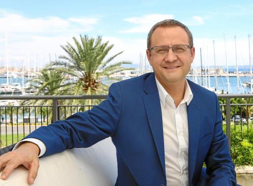 El mallorquín Bernardo Cabot, máximo responsable de Meliá Hotels en Asia, ha pasado unos días en la isla durante la Semana Santa.