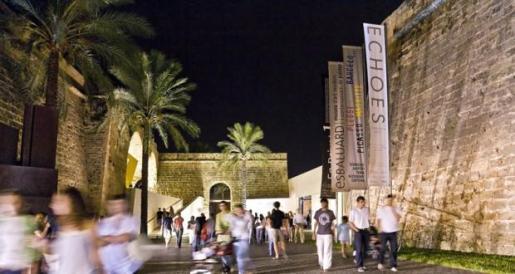 El museo Es Baluard de Palma durante un encuentro abierto sobre la producción cultural y artística (imagen de archivo).