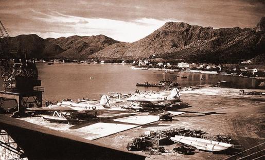 La base de hirdoaviones del Port de, inaugurada durante la República, se mantuvo fiel al Gobierno legítimo.