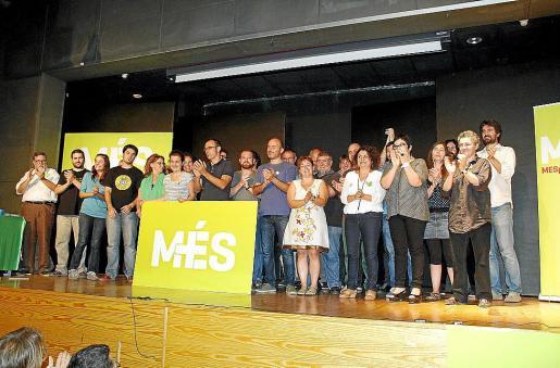 MÉS se presentó en octubre de 2013 como una coalición de izquierdas y soberanista que quería liderar el cambio de modelo en Balears después del segundo Pacte de Progés.