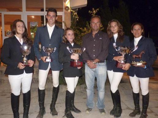 Ivany Capella, Jaime Martorell, Ana de Bedoia, Pedro Canals, Bianca Landolfi y Ana Alomar.