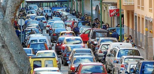 Palma es la segunda ciudad española con más congestión de tráfico, según un estudio reciente.