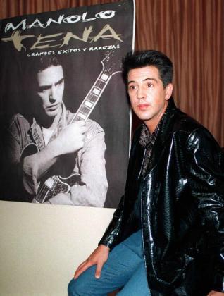 Manolo Tena, en una imagen de 1998.