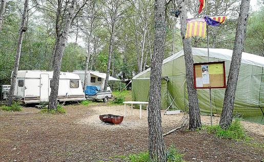 El cierre del área de la Comuna de Lloret dejará solo una zona de caravanas en Mallorca.