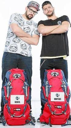 Matías y Nabil participan en Pekín Express.