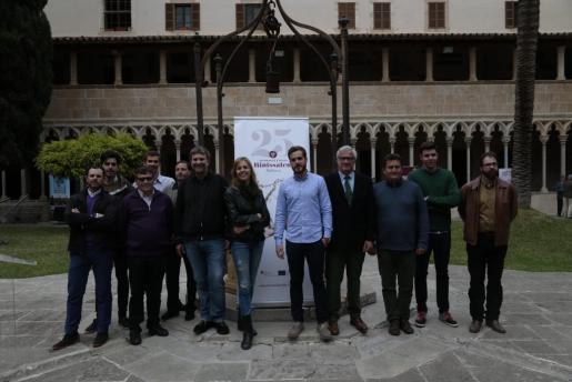 En el acto, que tuvo lugar este lunes en el claustro de Sant Francesc, participaron once bodegas de la DO Binissalem.