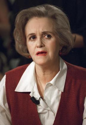 Fotografía de archivo tomada el 14/04/1995 de la actriz Chus Lampreave, una secundaria de lujo en la treintena de películas que hizo y especialmente popular a partir de sus trabajos con Pedro Almodóvar, que ha fallecido este lunes a los 85 años en Almería.