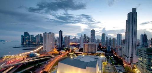 Distrito financiero de la ciudad de Panamá, donde Riu tiene su hotel Plaza Panamá.