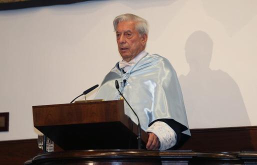 El premio Nobel de Literatura en 2010, el escritor hispanoperuano Mario Vargas Llosa.