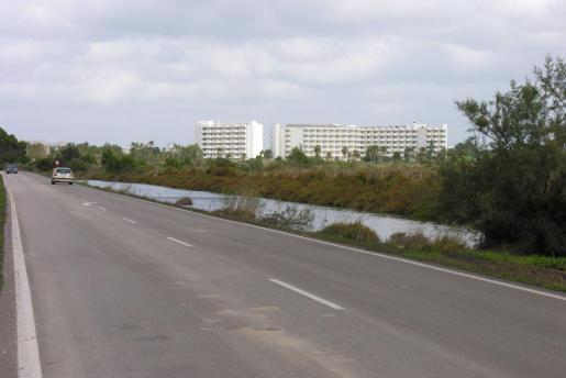 La carretera de s'Albufera está considerada como una de las más peligrosas de Mallorca.
