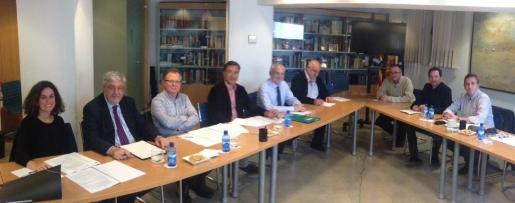 Reunión de trabajo del Consell Escolar de les Illes Balears.