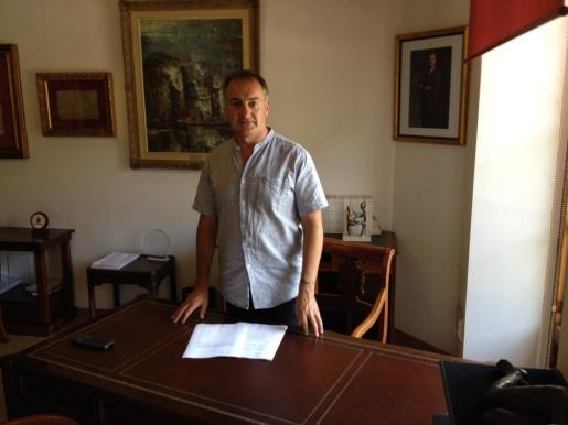 Jaume Tomàs, alcalde de Llucmajor.