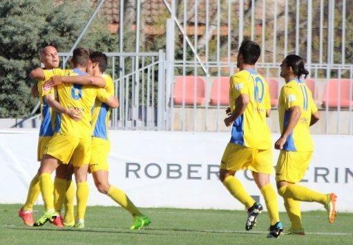 El Rayo Majadahonda y el Atlético Baleares empataron este miércoles 2-2 en el partido de ida de la final de la Copa de la Real Federación Española de Fútbol (RFEF).