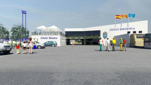El proyecto de la ciudad deportiva, que se construiría en la carretera de Valldemossa y muy próximo a Son Espases, nació hace cuatro años con la idea de convertirse en el nuevo hogar del Atlètic Balears y su cantera.